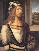 Albrecht Durer Self-Portrait (mk45) oil painting reproduction