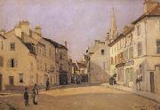 Alfred Sisley Square in Argenteuil oil painting reproduction