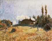 Alfred Sisley Station at Sevres oil painting reproduction