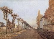 Alfred Sisley Chemin de la Machine,Louveciennes oil painting reproduction