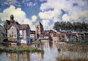 Alfred Sisley Moret-sur-Loing oil painting reproduction