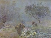 Alfred Sisley Foggy Morning,Voisins oil painting reproduction