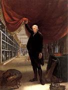Charles Willson Peale The Artist in his Museum oil painting artist
