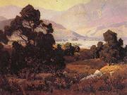 Elmer Wachtel Santa Paula Valley oil painting