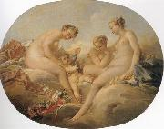 Francois Boucher Cupid and the Graces