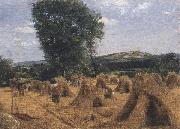 George Robert Lewis Dynedor Hill,Herefordshire (mk47) oil painting