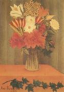 Henri Rousseau Bouquet of Flowers oil painting reproduction