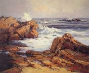 Jack wilkinson Smith Evening Tide,California Coast oil painting artist