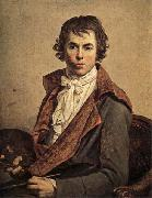 Jacques-Louis David Self-Portrait oil painting reproduction