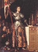Joan of Arc at the Coronation of Charles VII in Reims Cathedral (mk45)