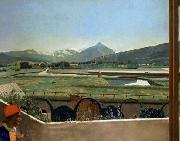 View of Geneva from the Artist s House