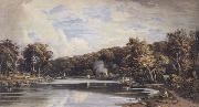 John varley jnr View on the Croydon Canal previous to the making of the Railroad (mk47) oil painting picture wholesale