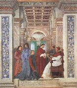 Pope Sixtus IV appoints Platina as Prefect of the Vatican Library (mk45)