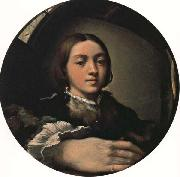 PARMIGIANINO Self-Portrait oil painting reproduction
