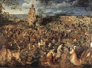 Pieter Bruegel Christ Carring the Cross oil painting picture wholesale