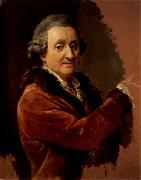 Pompeo Batoni Self-Portrait oil painting reproduction