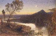 Samuel Palmer Classical River Scene oil painting on canvas