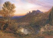 Samuel Palmer A Towered City or The Haunted Stream oil painting reproduction