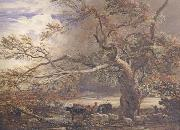 Samuel Palmer Sheltering from the Storm oil painting reproduction