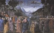 Sandro Botticelli Domenico Ghirlandaio,The Calling of the first Apostles,Peter and Andrew oil painting picture wholesale