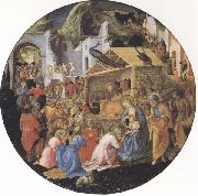 Filippo Lippi,Adoration of the Magi