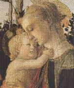Madonna of the Rose Garden or Madonna and Child with St John the Baptist
