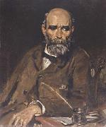 Sir William Orpen Michael Davitt MP oil painting reproduction