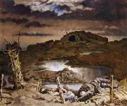 Sir William Orpen Zonnebeke oil painting reproduction