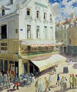 Sir William Orpen Dieppe oil painting on canvas
