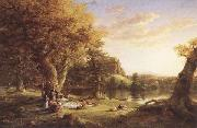 Thomas Cole The Pic-Nic oil painting picture wholesale