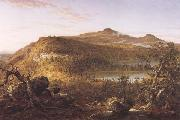 Thomas Cole A View of the Two Lakes and Mountain House,Catskill Mountains Morning oil painting picture wholesale
