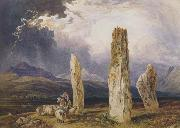 William Andrews Nesfield Druidical Temple at Tormore,isle of Arran (mk47) oil painting picture wholesale