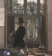 William Orpen Myself and Venus oil painting