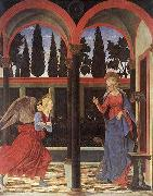 Alesso Baldovinetti Annunciation oil painting reproduction