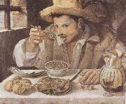 Annibale Carracci The Bean Eater oil painting reproduction