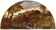 Annibale Carracci The Flight into Egypt oil painting reproduction