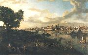 View of Warsaw from the Praga bank