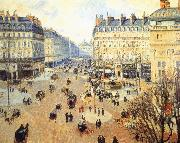 Winter afternoon, the French Theater Square