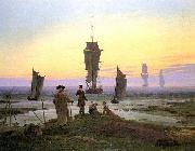 Caspar David Friedrich The Stages of Life oil painting reproduction