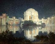 Painting of the Palace of Fine Arts in San Francisco, c. 1915