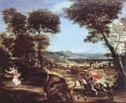 Domenichino st.george killing the dragon oil painting reproduction