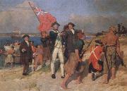 landing of captain cook at botany bay,1770