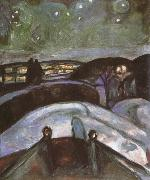Edvard Munch Night oil painting reproduction