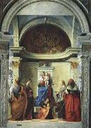 Gentile Bellini Zakaria St. altar painting oil painting reproduction