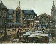 George Hendrik Breitner The Dam oil painting