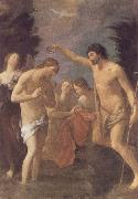 Guido Reni The Baptism of Christ oil painting reproduction