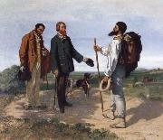 Gustave Courbet The Meeting oil painting reproduction