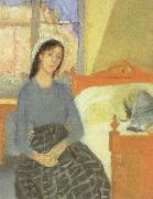Gwen John the artist in her room in paris oil painting reproduction