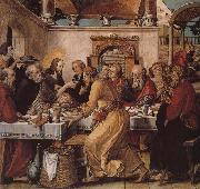 Hans Holbein The Last Supper oil painting reproduction