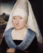 Portrait of elderly women